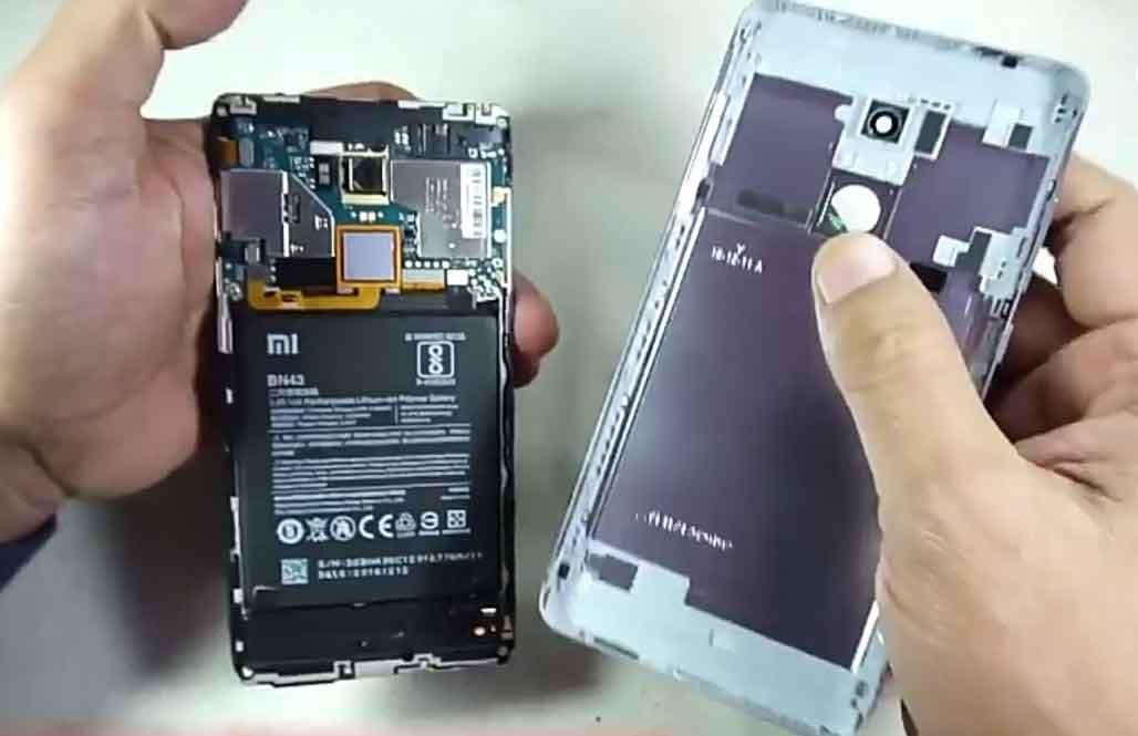 Ganti Baterai Xiaomi Redmi