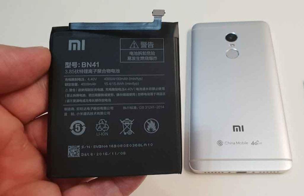 Lepas Baterai Xiaomi Redmi