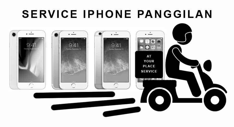 Service IPhone Panggilan di Malang
